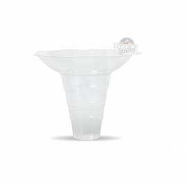 Biodegradable Large Shave Ice Flower Cups (200pcs)