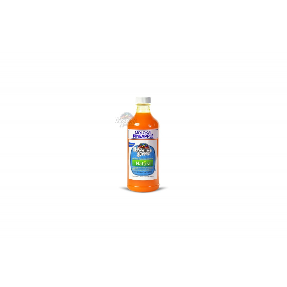 Shaved Ice Natural Concentrates - 16 Oz.
