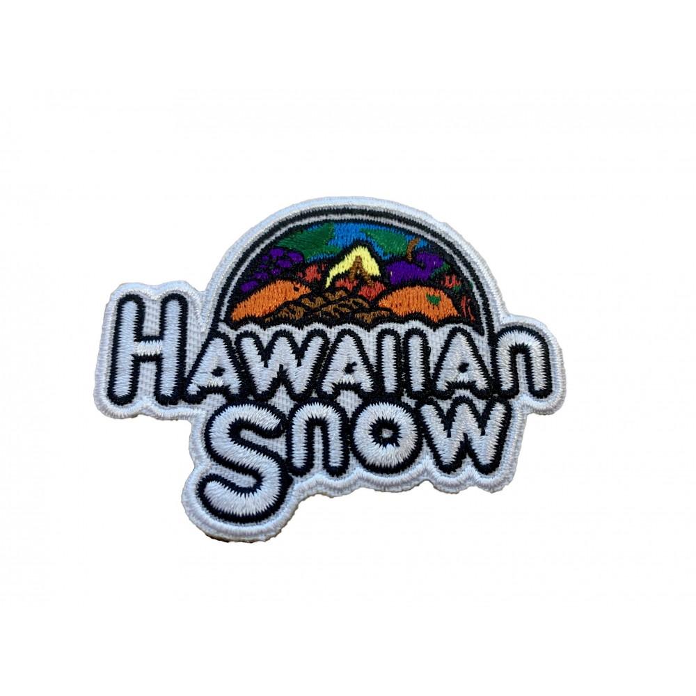 Hawaiian Snow Velcro Backed Patch