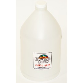 Citric Acid For Shaved Ice Syrup (1 gallon)