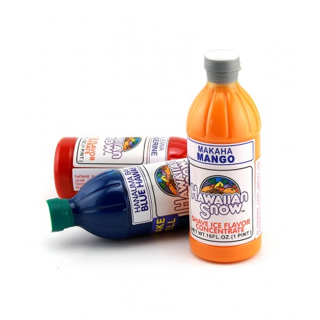 Shaved Ice Syrup Standard Concentrate - 16oz