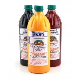 Shaved Ice Syrup Standard Concentrate - 32oz