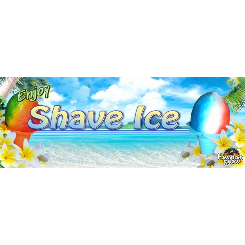 Enjoy Shave Ice Banner